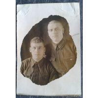 Фото военных. 1939 г. 8х12 см