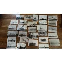 Коллекция фотографий параходов,катеров,крейсеров и других морских судов 18-20 века - 98 штук