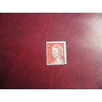 Марка королева Елизавета II 1966 год Австралия