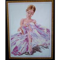 Остатки набора для вышивки ''Балерина''