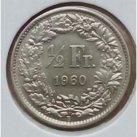 Швейцария пол франка1960