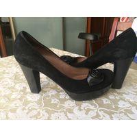 Туфли женские замш