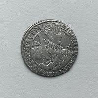 Монета Орт 1/4 талера 1621 г. Польша Сигизмунд lll РЕДКИЙ отличный