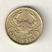 Сейшелы 1 цент 2004
