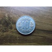 Исландия 10 крон 1980