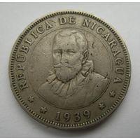 50 центаво 1939 Никарагуа