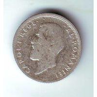 Румыния. 50 бани 1910 г. (серебро)