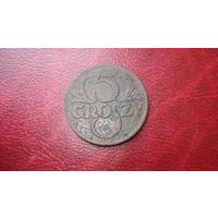 5 грошей 1928 год Польша