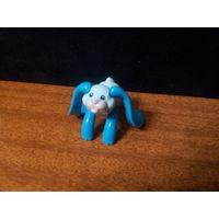 Киндер заяц с длинными ушами синий
