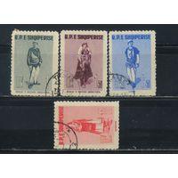 Албания НСР 1961 Национальные костюмы Полная #623-6