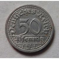50 пфеннигов, Германия 1921 G
