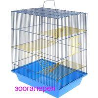 Клетка для крысы, хомяка Гризли 240ж+подарок