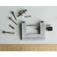 Часовой станок для ремонта и обработки ( полировки ) осей
