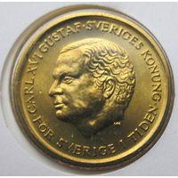 Швеция, 10 крон, 1992, монета-письмо