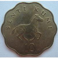 Танзания 10 сенти 1981 г. (u)