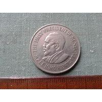 Кения, 1 ШИЛИНГ! Красивая, крупная монета!