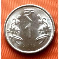 112-18 Индия, 1 рупия 2013 г. (м. д. Мумбаи)