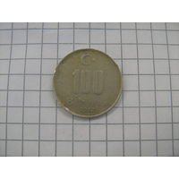 Турция 100 000 лир 2002г.km1106