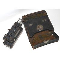 "Стереокамера ""Jules Richard Verascope No.9"", 45x107мм., 1920-х годов."