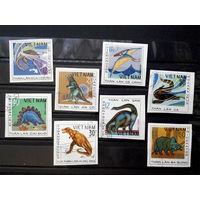 Вьетнам 1979 г. Динозавры. Фауна. Без зуб. полная серия из 8 марок #0045-Ф2P8