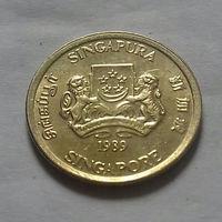 5 центов, Сингапур 1989 г.