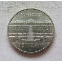 Германия - ГДР 5 марок 1986 Дворец Сан-Суси в Потсдаме