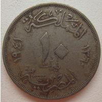 Египет 10 миллим 1941 г. (gl)