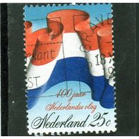 Нидерланды. Ми-1000. 400 лет Нидерландскому национальному флагу.1972.