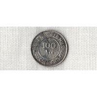 Палестина 100 милс 1935 /серебро/(D)