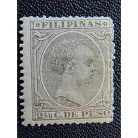 Испанская колония Филиппины 1892 г. Король Альфонс XIII.