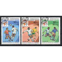 Чемпионат мира по футболу в Испании Мадагаскар 1982 год серия из 3-х марок