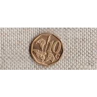 ЮАР 10 центов 1996/флора/(Uss)