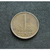 Нидерланды 1 цент 1960