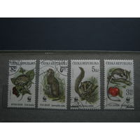 Марки - Чехия фауна грызуны 1996