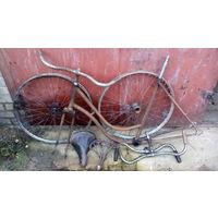 Запчасти старого велосипеда