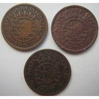 Мозамбик Португальский 1 эскудо 1957, 1963, 1965 гг. Цена за 1 шт. (gl)