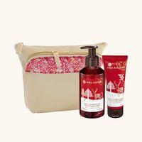 Подарочный набор косметичка + крем для рук + мыло для рук