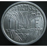 Реюньон 1 франк 1964 ТОРГ (351)
