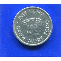 Сейшельские острова 1 цент 1972 , ФАО , UNC