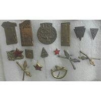 Старые знаки ЧЕХОСЛОВАКИЯ 50-60 г. и более ранние. Цена за один.
