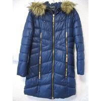 Зимнее пальто с поясом, 42-44 размер, Польша