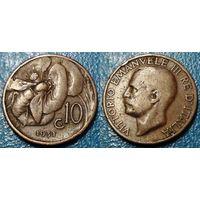 W: Италия 10 чентезимо 1931 (668)