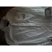 Фирменная рубашка на мальчика от REPORTER,р.134