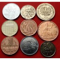9 монеток - 9 стран. #126 Старт с 10 копеек