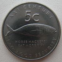 Намибия 5 центов 2000 г. ФАО