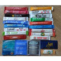 САХАР 22 пакетика  (цена за все)
