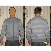 Пуловер мужской,  новый, произведен на пинской фабрике, 70% ПАн, 30% шерсти,размер: 50, рост170-176-
