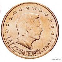 5 евроцентов 2004 Люксембург UNC из ролла