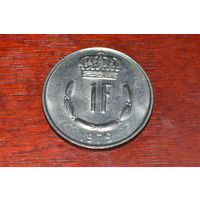 Люксембург 1 франк 1979