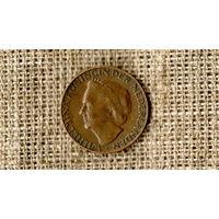 Нидерланды 1 цент 1958 //(ON)